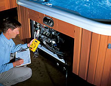 Paradise Pool and Spa Hot Tub Maintenance