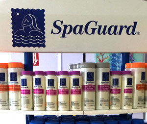 Paradise Pool and Spa SpaGuard Chemicals