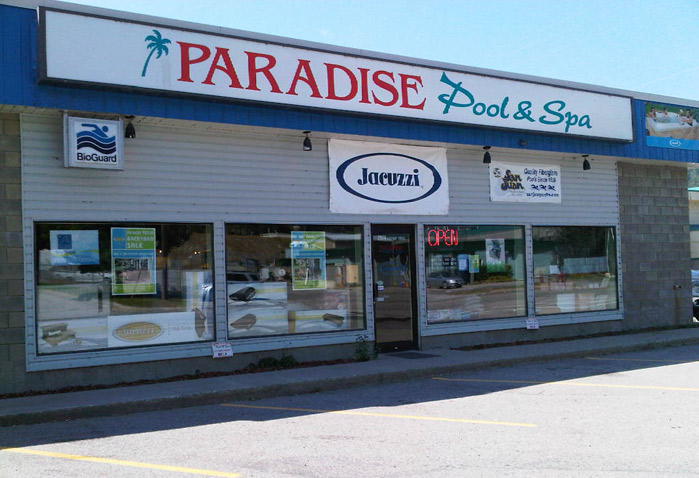 Paradise Pool & Spa Location